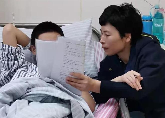 杭州男孩骨折住院 海寧女教師義務補課