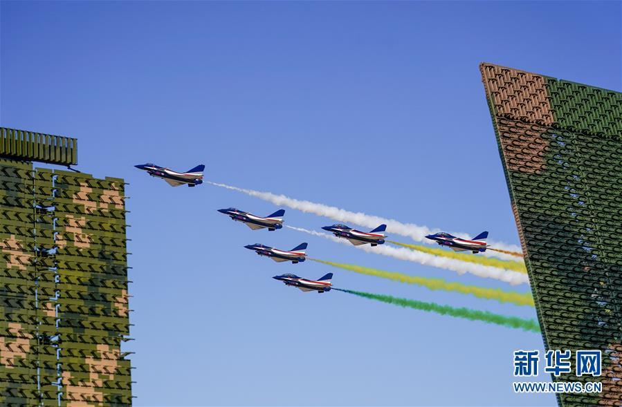 空军航空开放活动向老百姓展现强国兴军之美