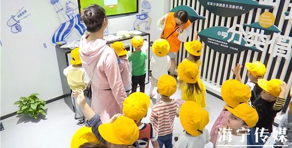 海寧市民中心實現日常開放 百名文明小使者現場體驗