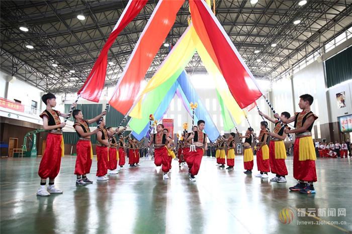 缙云县举行2019年中小学体育特色项目大展示大比武活动
