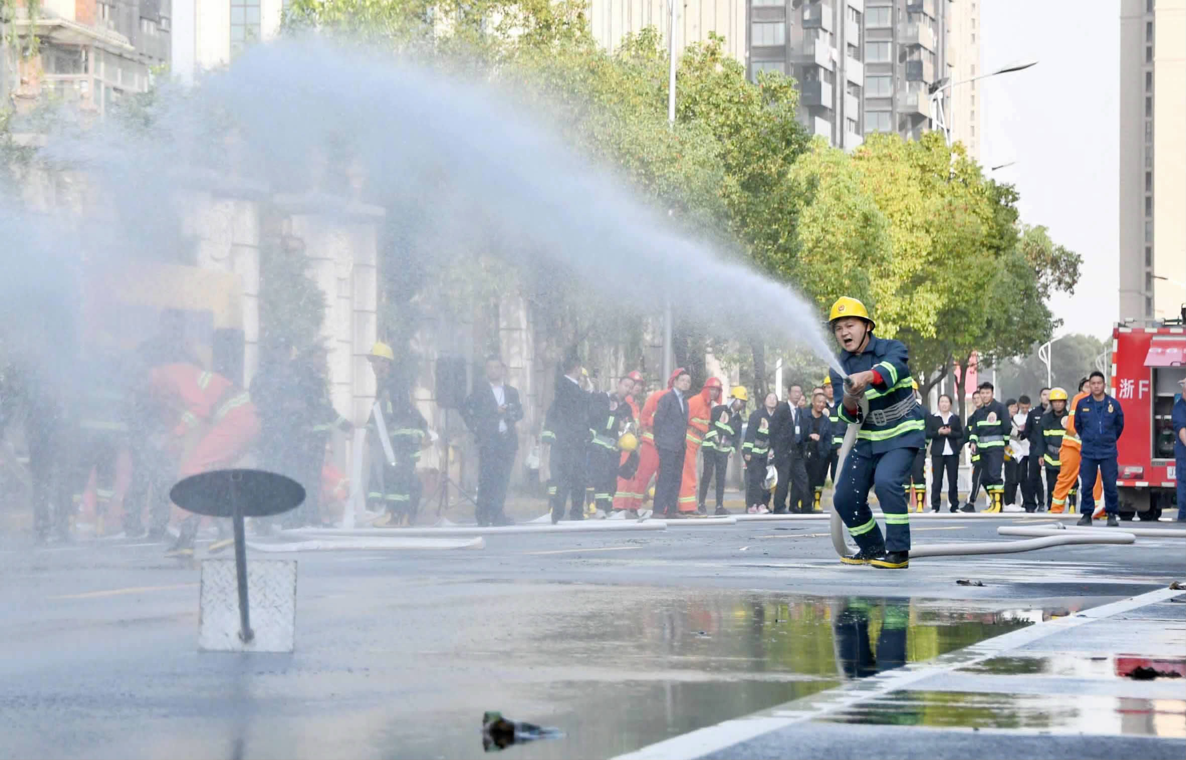 消防技能比武