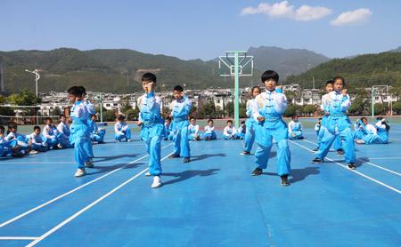 传承技艺 | 城东小学这群少年天天在学校练功夫……