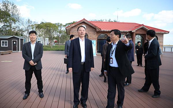 市考察团赴上海考察学习对接招商项目