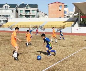 皇冠体育在线县小学生校园足球比赛