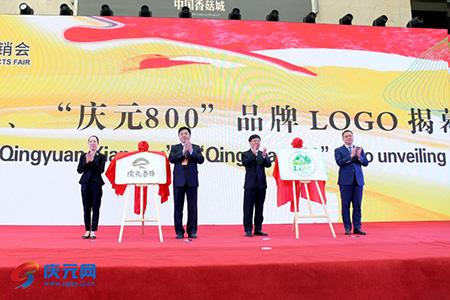"""庆元香菇、""""庆元800""""品牌LOGO正式亮相"""