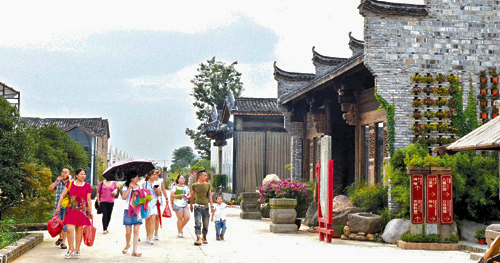为什么金东乡村美如画?