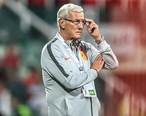 里皮宣布辞去中国男足主教练职务