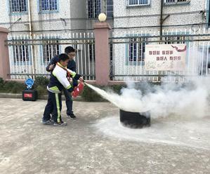 增强消防意识 创建平安校园