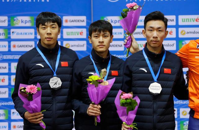 速滑世界杯明斯克站:中国队三银收官