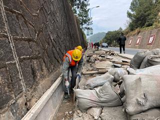 过境公路整治提升项目持续推进