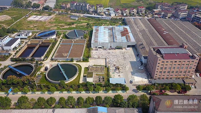 缙云县第二污水处理厂清洁排放改造工程进展顺利