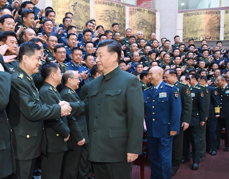 习近平出席全军院校长集训开班式