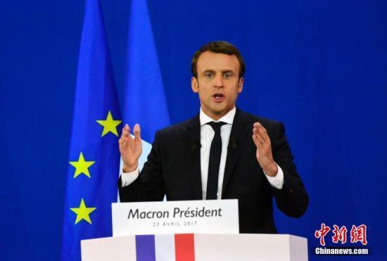 法国总统马克龙与北约秘书长会面 双方分歧仍存