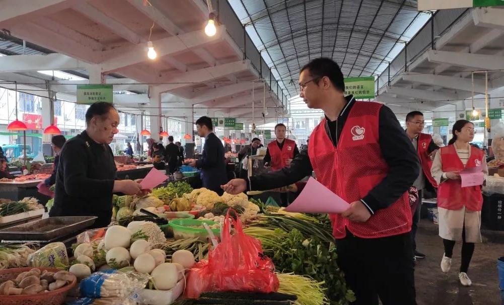 """打造優質農貿市場,管好桐鄉市民的""""菜籃子""""!"""