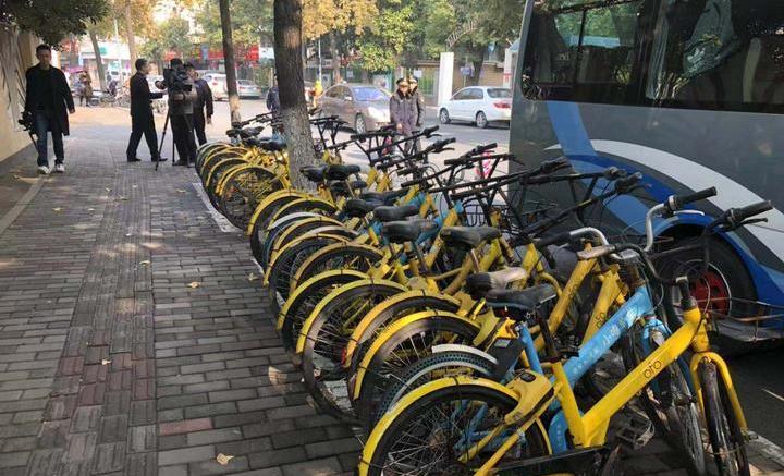 亂堆亂放惹人厭 杭州集中清理廢棄共享單車