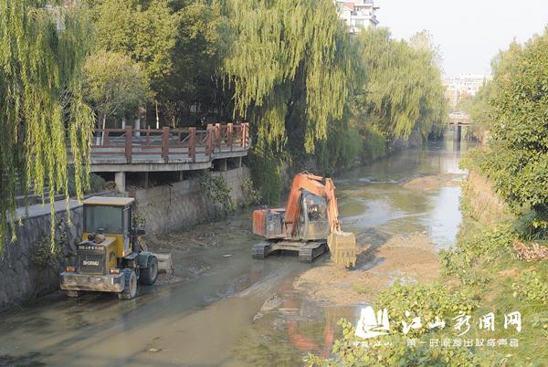 河道清淤提颜值