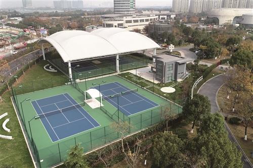 高颜值的网球场