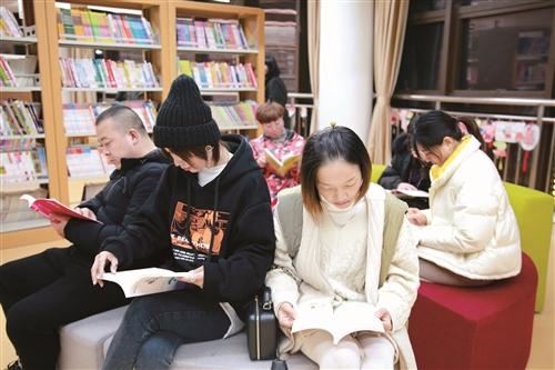 """家长的""""阅读室"""""""