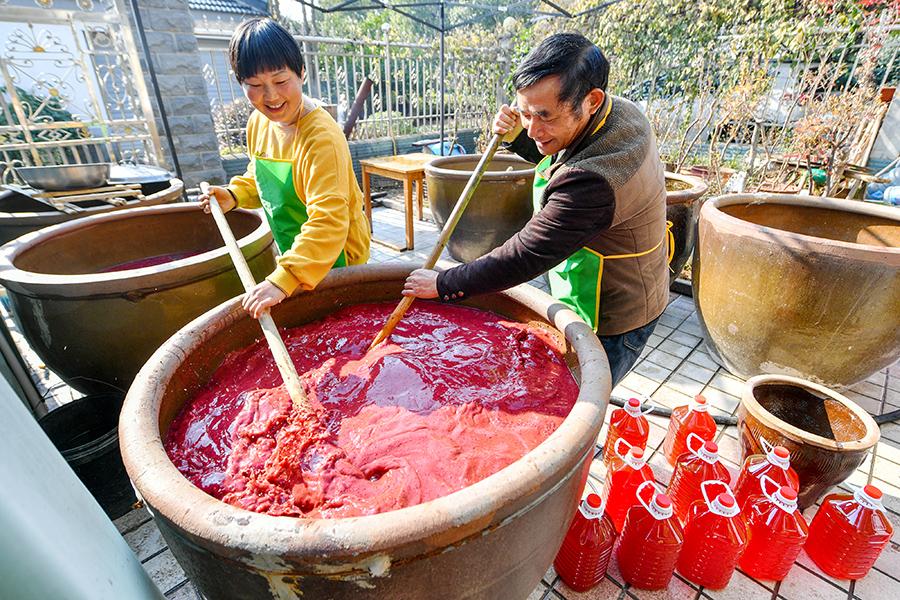 冬酿红曲酒