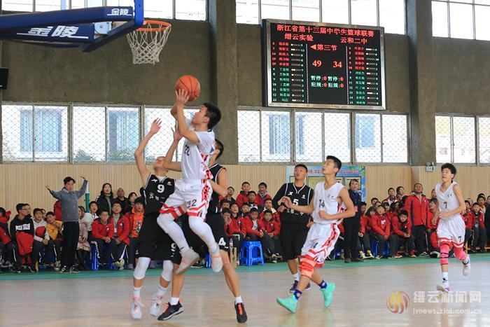 勇夺省中学生篮球联赛初中男子组冠军