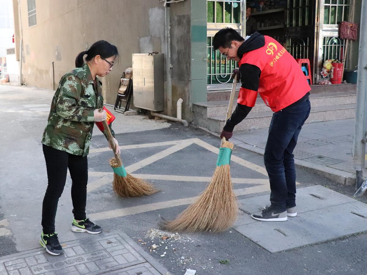 沙门:小城镇环境综合整治 沙门在行动