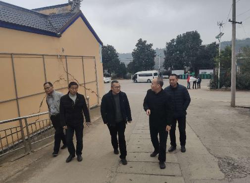 省应急管理局领导到崇仁镇地雅园地质灾害点指导工作
