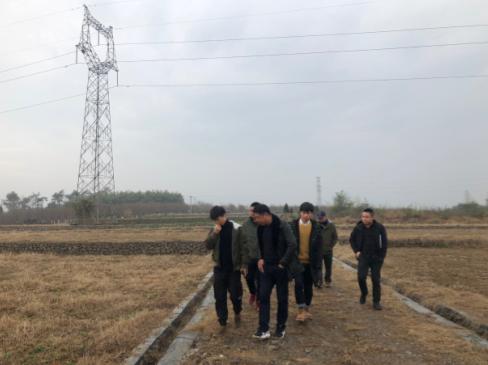 省自然资源和规划厅对赵马村大祠堂顶土地开发项目进行复验