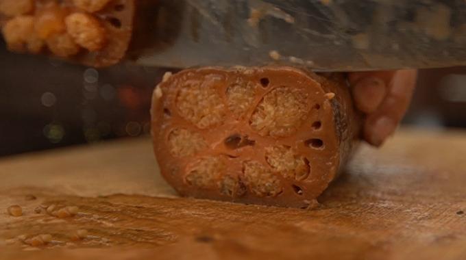 长兴传统风味美食――糯米糖藕