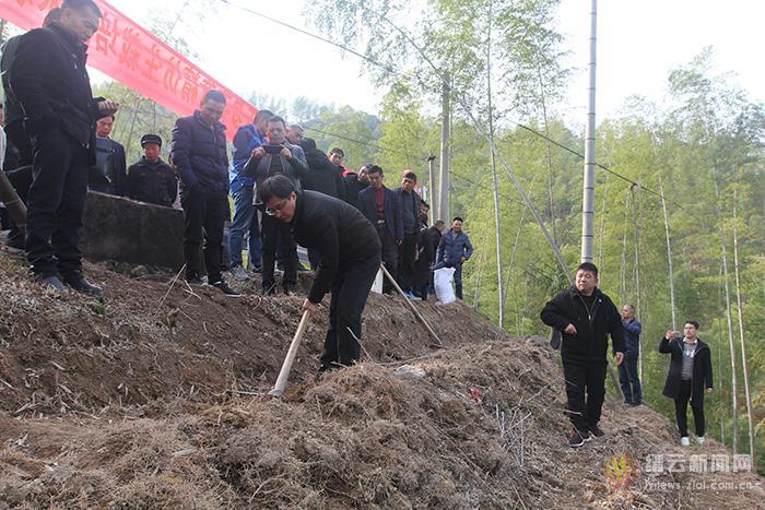 中央财政林业科技推广示范项目技术培训