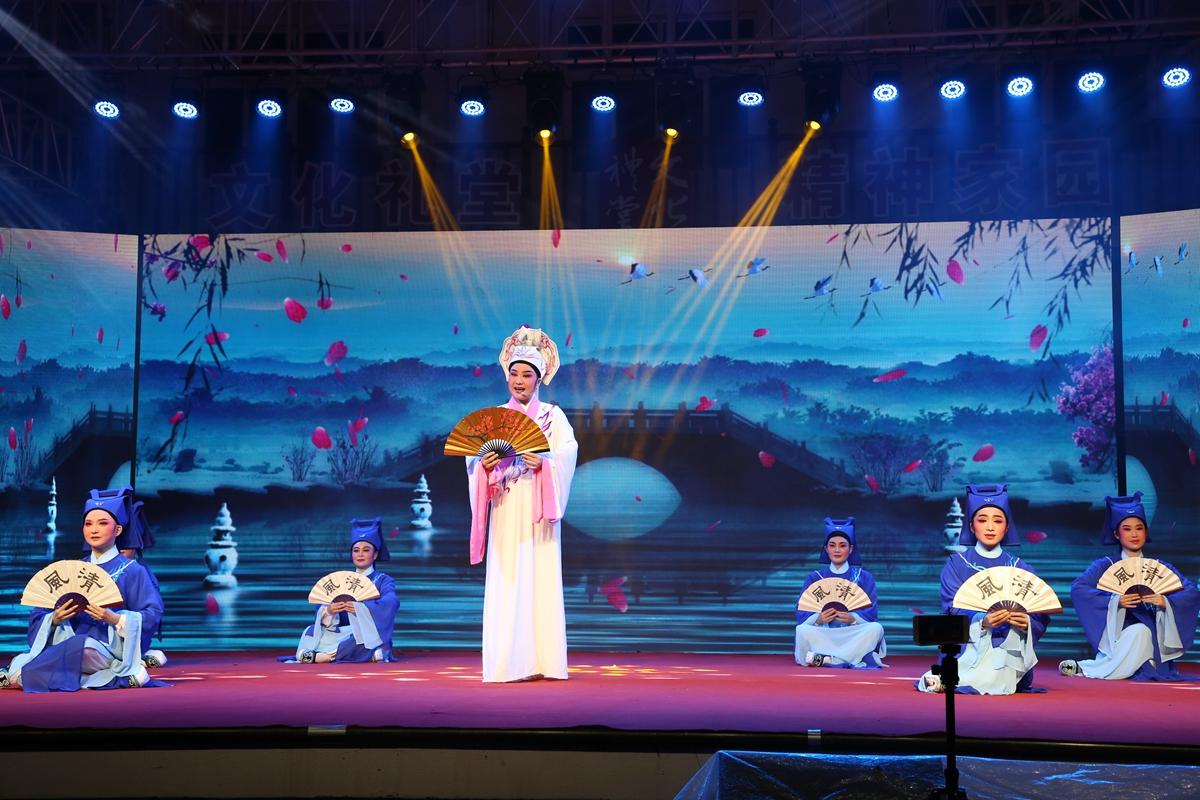 干江:越剧春晚开演,村民过足戏瘾