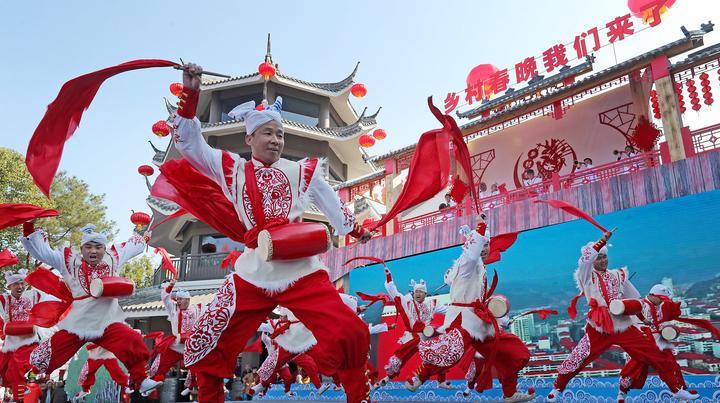 2020年全国乡村春晚集中展示活动在浙江丽水启动