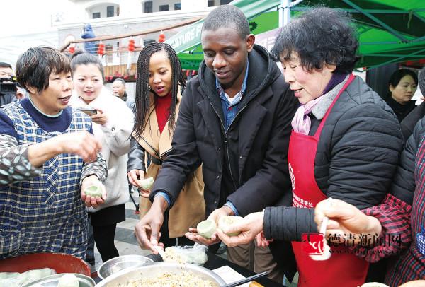 品年味 逛市集 购年货 莫干山年俗文化节成功举办