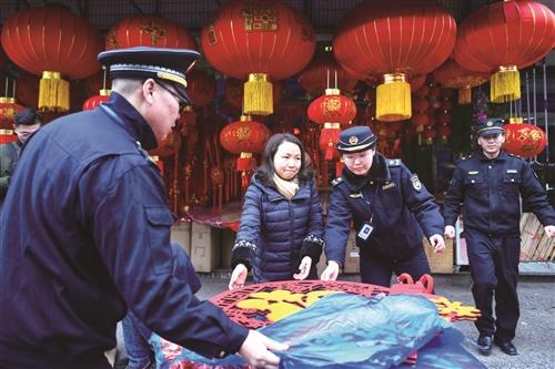 春节红火 也要规范经营