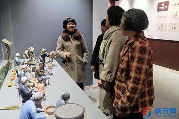 月山春晚展览馆开馆