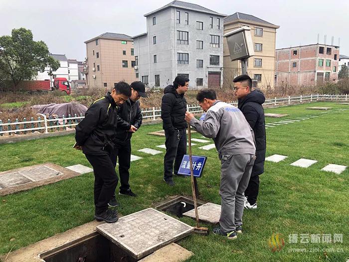 节前农村生活污水处理设施检查