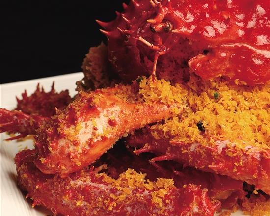 蟹与黄鱼:不可辜负的冬日创意美味