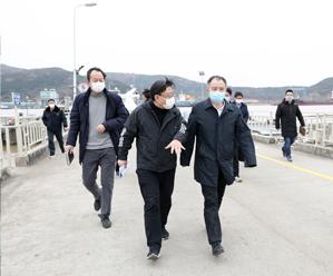县委书记周国岭检查指导长涂疫情防控工作!