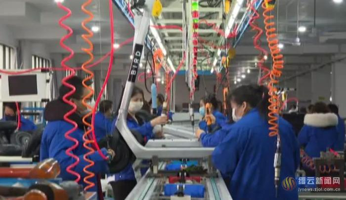 缙云:走访帮扶 加快核准 18家企业已复工生产