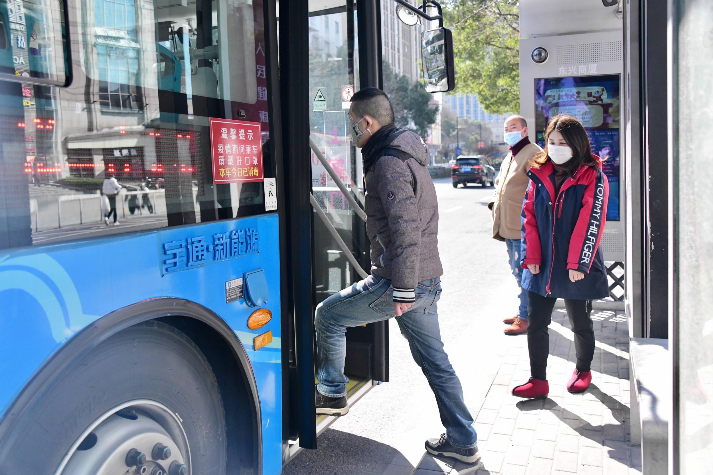 公交恢复实名乘车