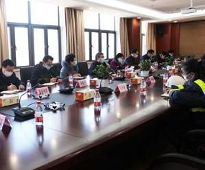"""孙志龙走访企业、部门开展""""三服务""""活动"""