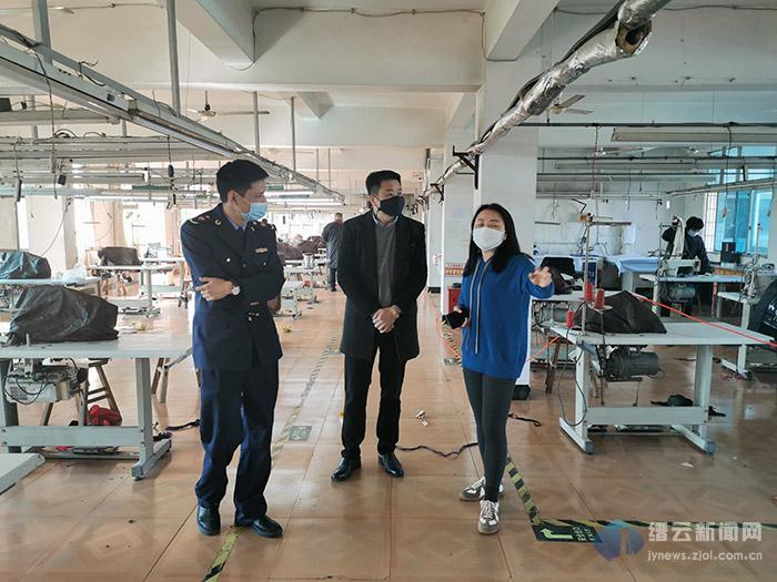 缙云县市场监管局全力帮扶紧急物资市场企业复产扩产