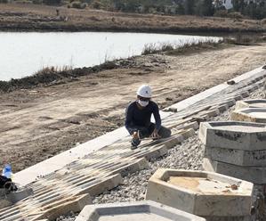 我县水利工程建设项目陆续复工