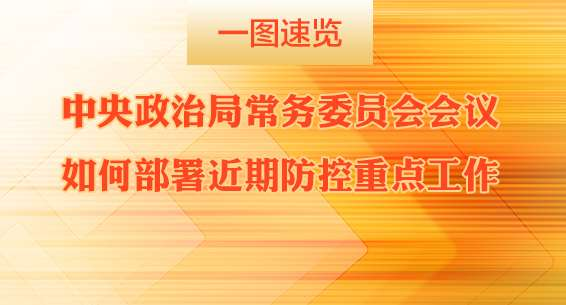 中央政治局常务委员会会议如何部署近期防控重点工作