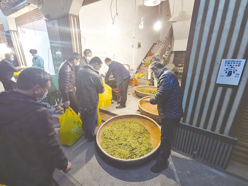 中国茶市顺利复业