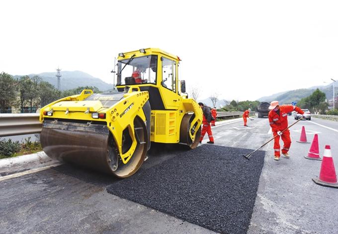 武义:330国道大中修工程昨开工