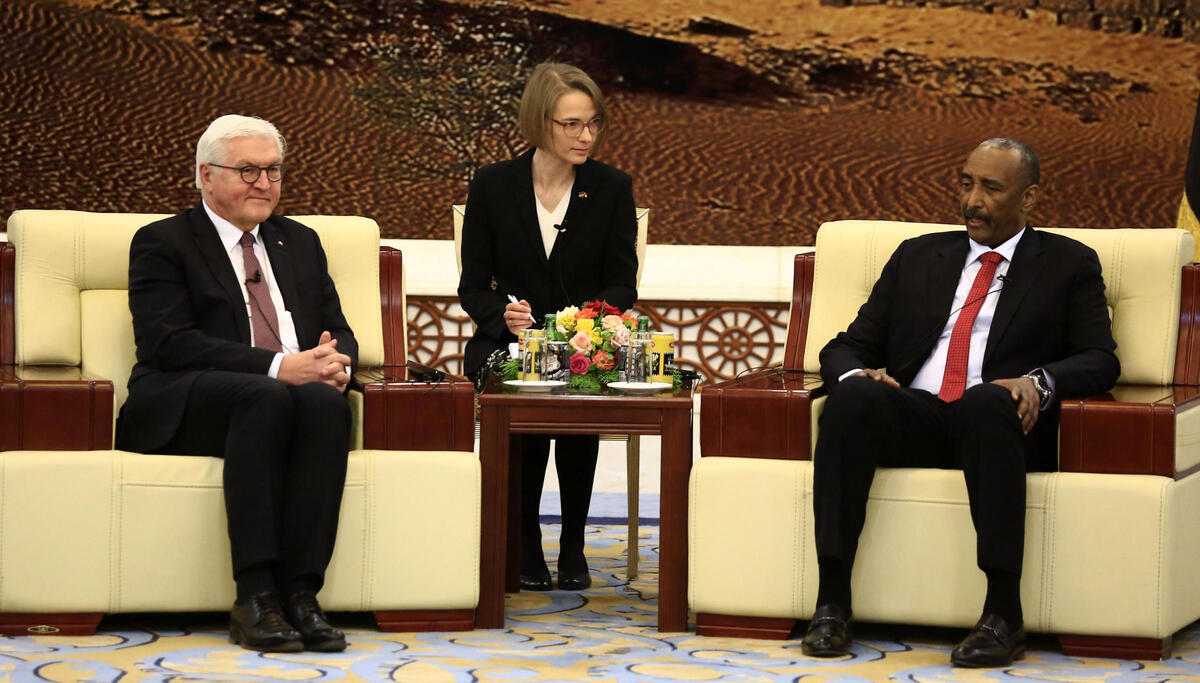 苏丹和德国领导人表示愿加强双边关系