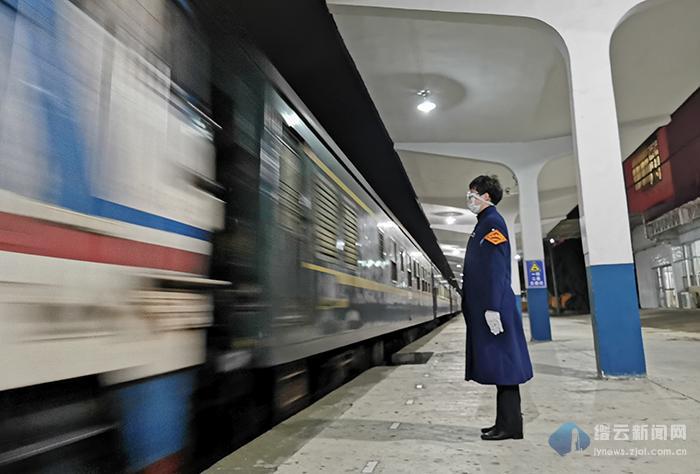 列车恢复开行 助力复工复产