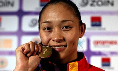 亚大区拳击资格赛中国队摘四金两铜