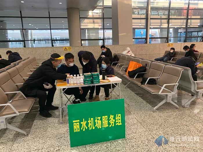 """缙云驻外招商党员突击队奔赴""""国门""""战疫一线"""