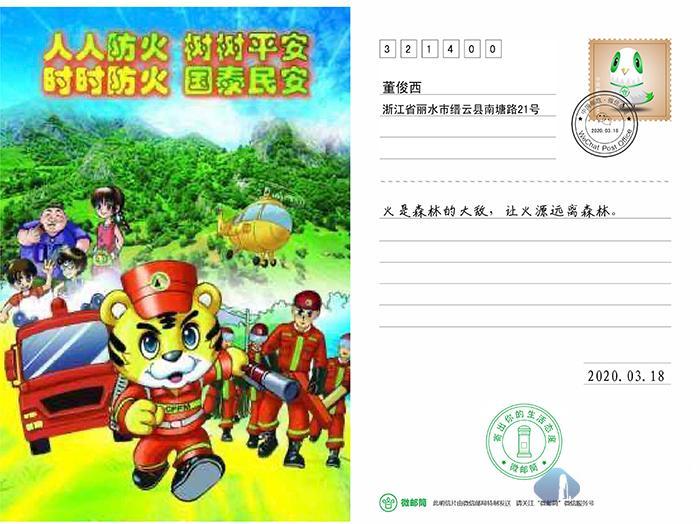 缙云县实验小学:防范森林火灾 爱护绿色家园